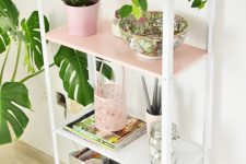 03 a cute Hyllis hack with white and pink parts is an ideal pastel piece for a girlish space