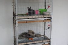 11 a Hyllis rabbit hutch is a fun idea for those who have animals