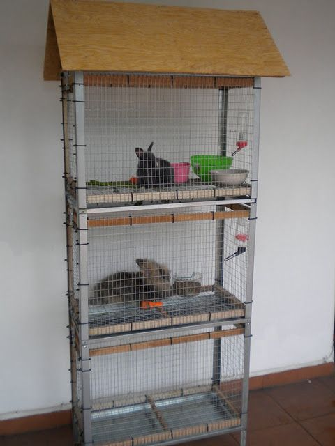 a Hyllis rabbit hutch is a fun idea for those who have animals