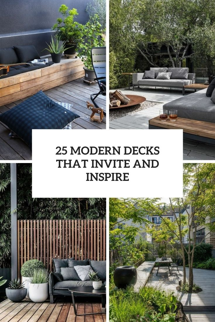25 Modern Decks That Invite And Inspire