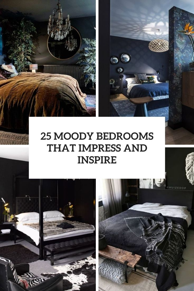 25 Moody Bedrooms That Impress And Inspire
