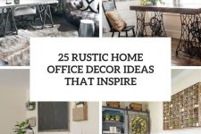 25 rustic home office decor ideas that inspire cover