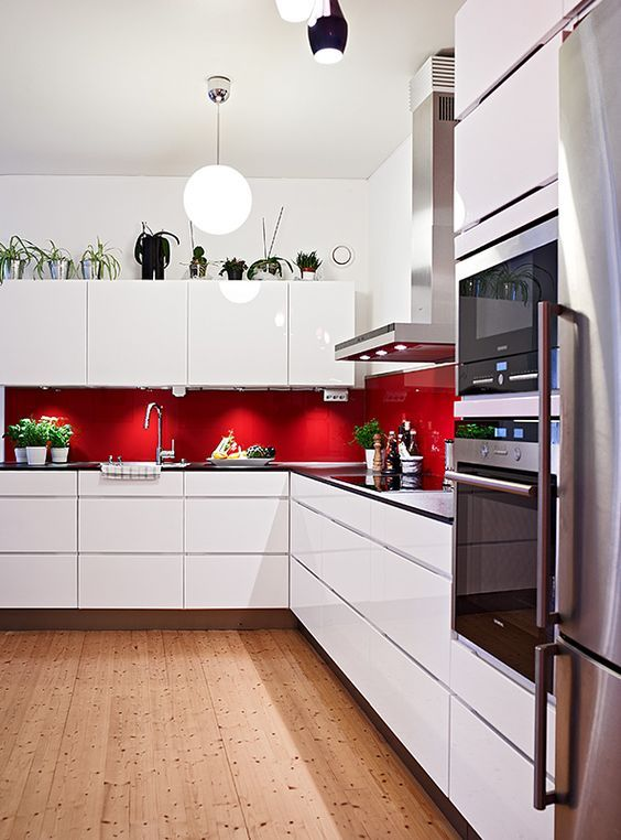 stylish minimalist kitchen design