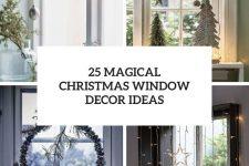 25 magical christmas window decor ideas cover