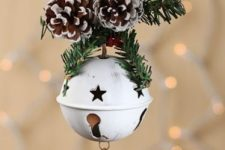 a cool Chrismtas ornament with cutout stars