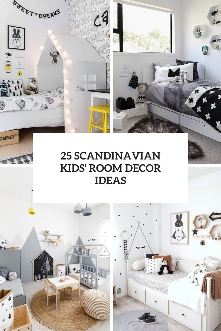 25 Scandinavian Kids' Room Decor Ideas