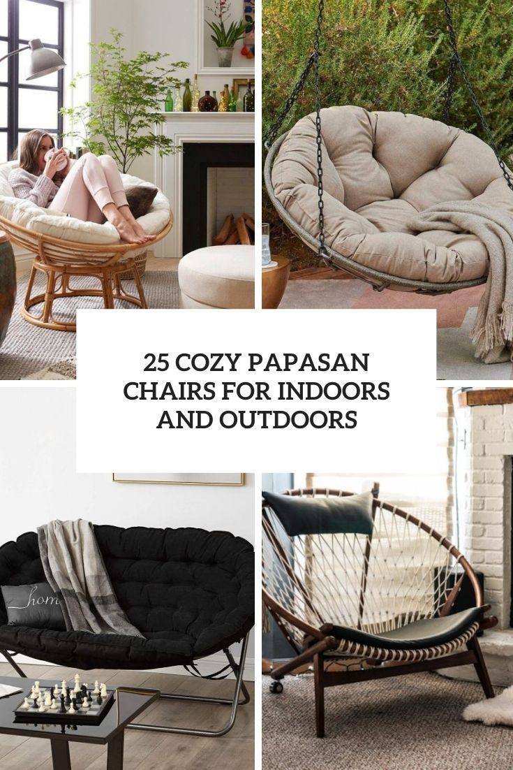 25 Cozy Papasan Chairs For Indoors And Outdoors