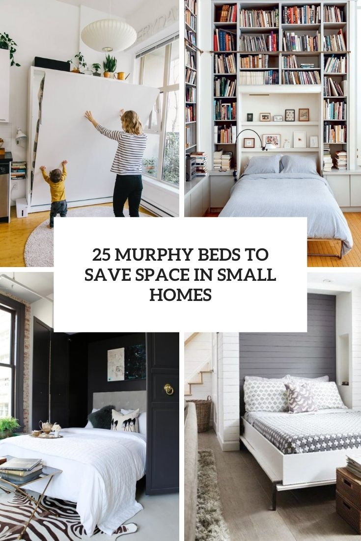 25 Murphy Beds To Save Space In Small Homes