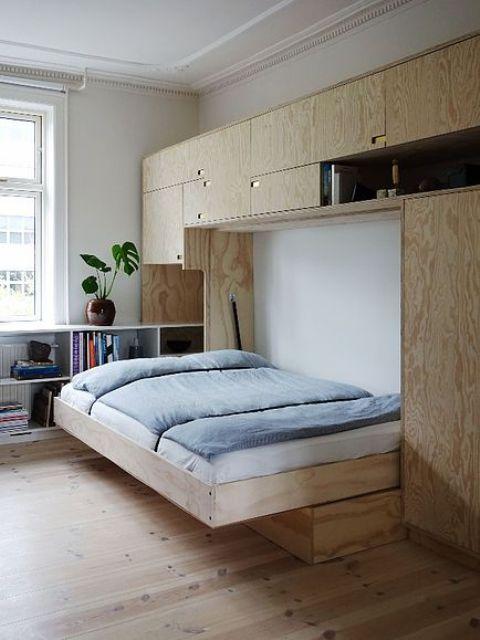 a practical scandinavian bedroom design