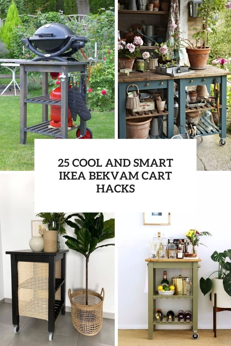 25 Cool And Smart IKEA Bekvam Cart Hacks