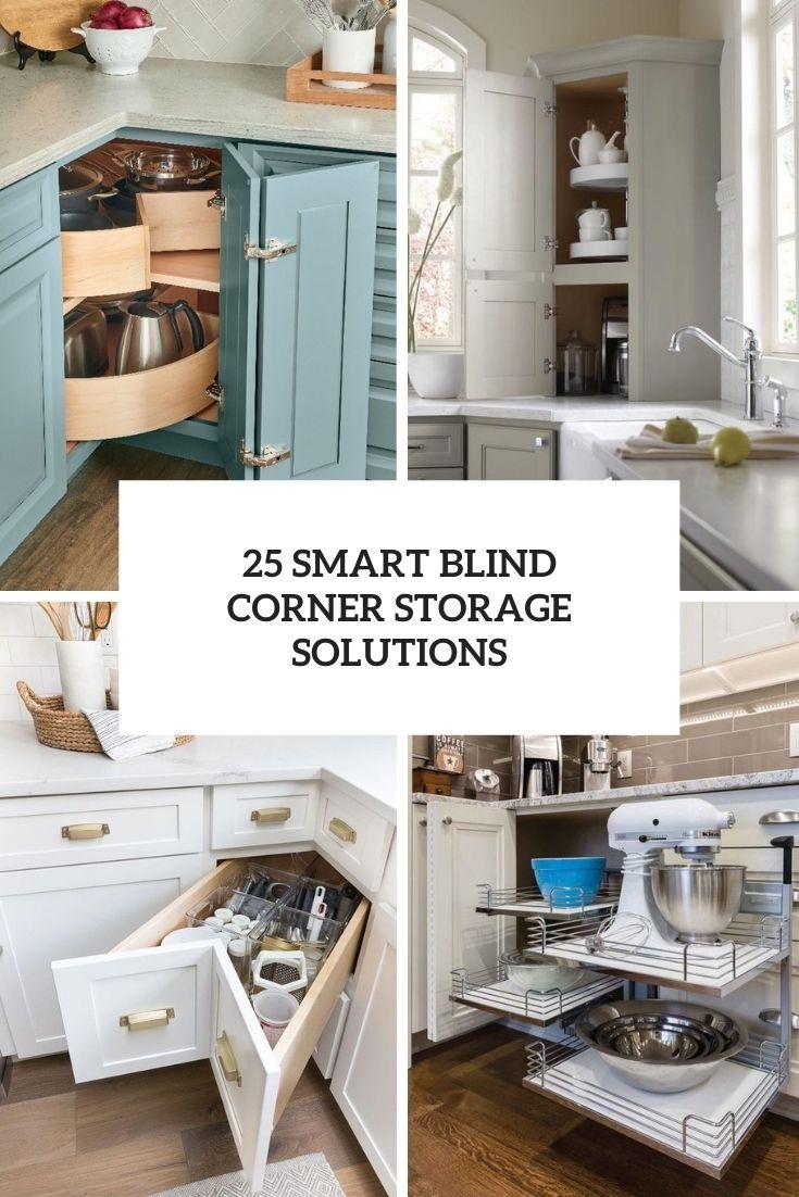 smart blind corner storage solutions cover