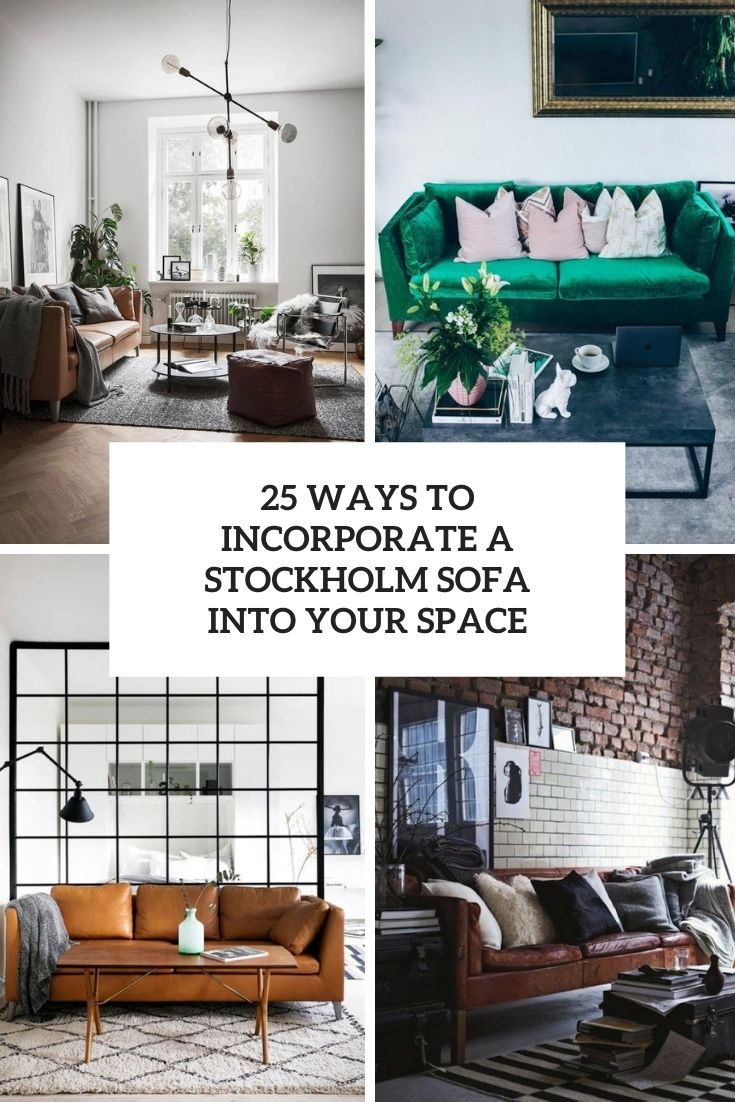 25 ways to incorporate a stockholm sofa into your space cover