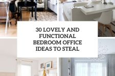 30 lovely and functional bedroom office ideas to steal cover