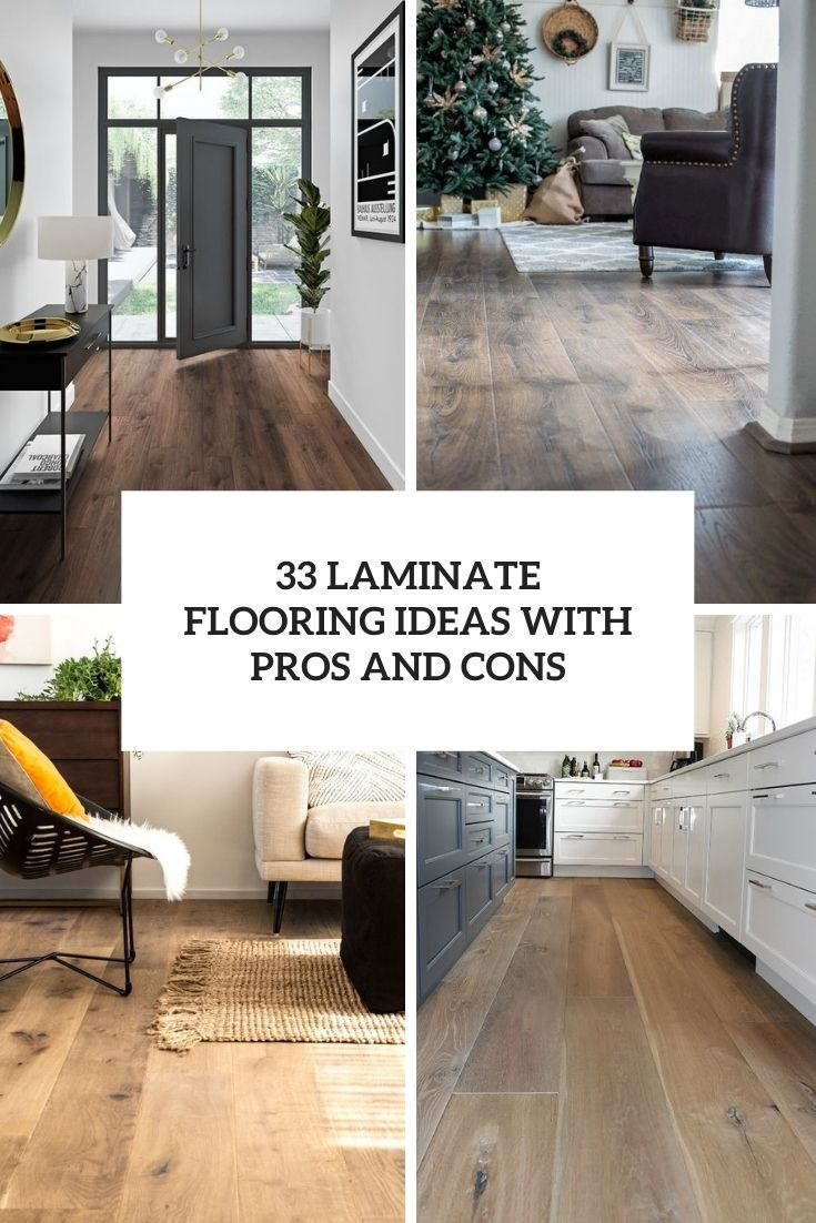 laminate flooring ideas with pros and cons cover