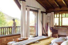 a cozy attic bedroom design