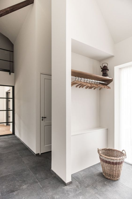 a laundry could be designed in farmhouse style