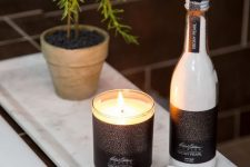 16 scented candles, scented bath salts and soaps will turn your bathroom into a luxurious summer spa retreat