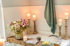 17 green towels are great for creating a summer mood in your bathroom, they help you feel the season