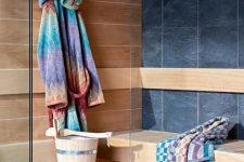 21 vibrant and colorful bathroom textiles are right what you need in summer, switch to them