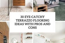 30 eye-catchy terrazzo flooring ideas with pros and cons cover