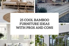 25 cool bamboo furniture ideas with pros and cons cover