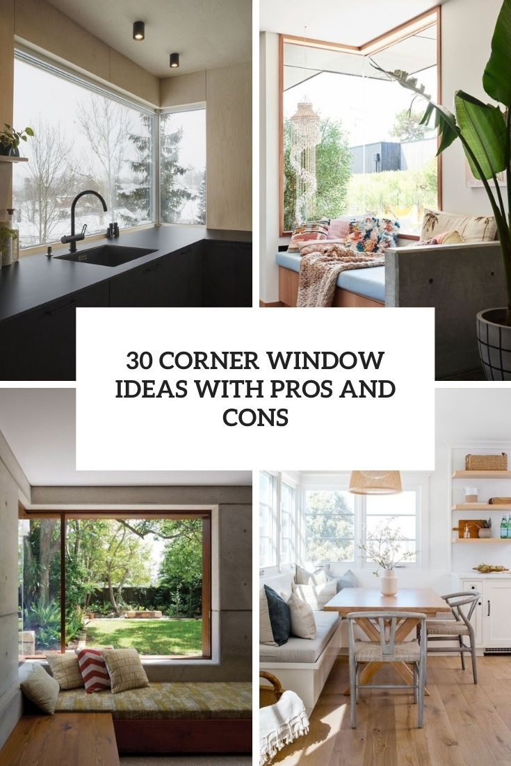 30 Corner Window Ideas With Pros And Cons