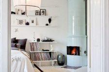 a cozy scandinavian bedroom design