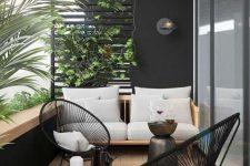 a stylish modern balcony design