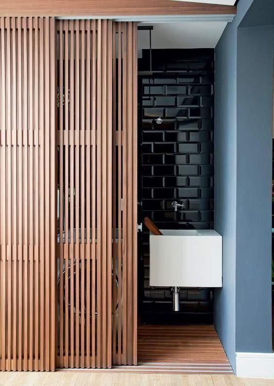 utral-modern and semi-sheer wooden