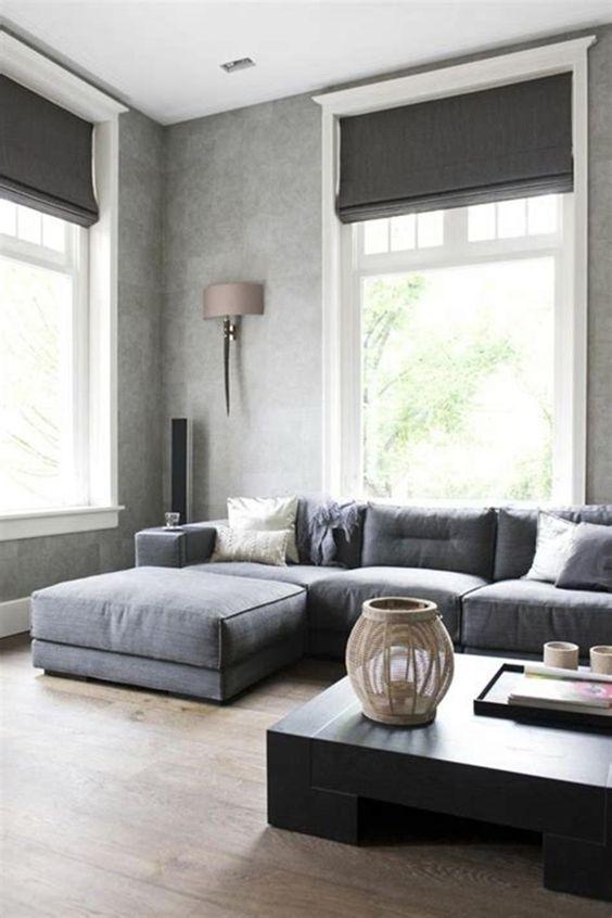 a cozy scandinavian living room design
