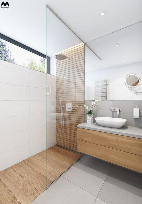 a stylish minimalist bathroom design