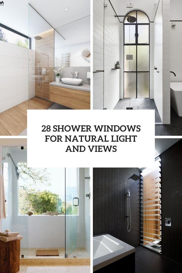 28 Shower Windows For Natural Light And Views