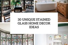 30 unique stained glass home decor ideas cover