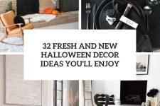 32 fresh and new halloween decor ideas you'll enjoy cover
