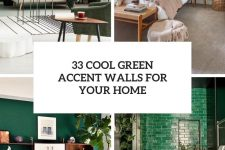 33 cool green accent walls for your home cover