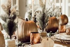 a gorgeous thanksgiving table setting