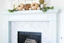 faux pumpkins are perfect for fall decor