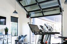 a practical home gym design