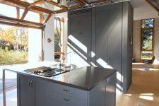 a stylish modern kitchen design