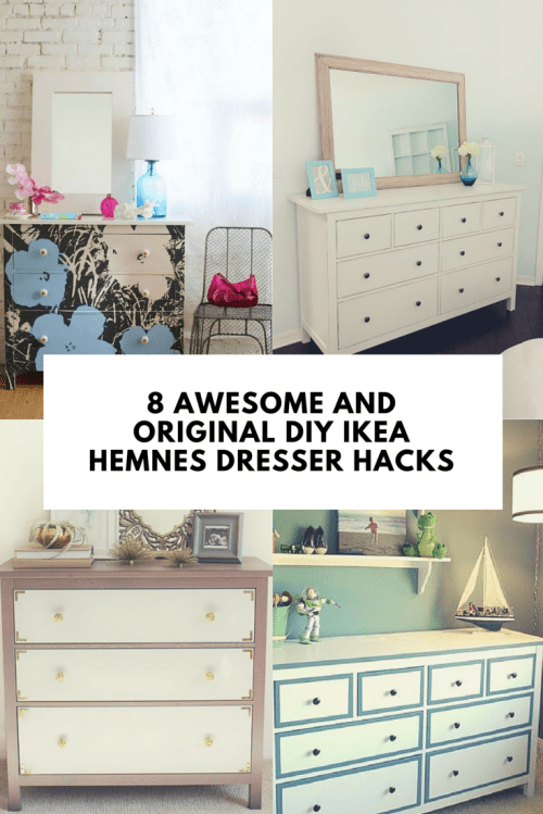 8 Awesome And Original Diy Ikea Hemnes Dresser Hacks