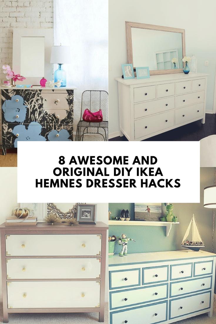 Simple Yet Stylish IKEA Hemnes Dresser (1)
