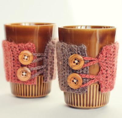Free Knitting Pattern For Tumbler Glass Holder