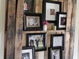 DIY Natural Wood Photo Display