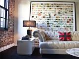 Travel Photos Display (via apartmenttherapy)