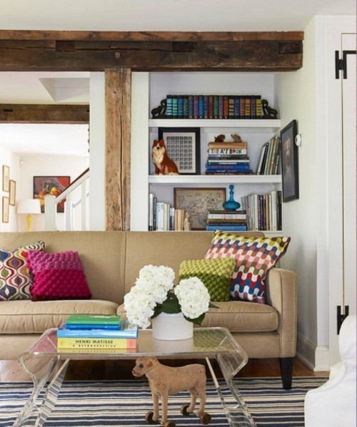Cool Ideas To Place Shelves In Niches