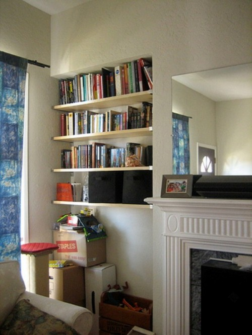 Wall Shelves Decorating Ideas 500 x 666