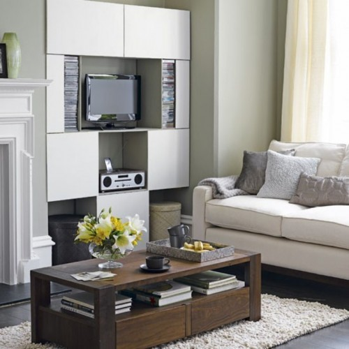 15 Smart Solutions To Place The Tv In Living Room  C2NyYXBlLTEtQzA5R1Ju