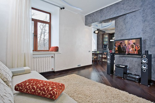 Thoughtful Design of 33 Square Meter Apartment