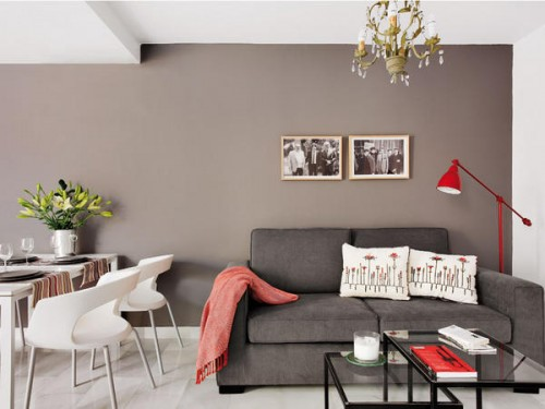 Small 45 Square Meters Apartment That Seems Bigger Than It Is