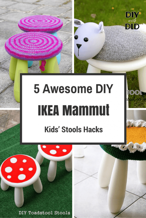 5 Awesome DIY IKEA Mammut Kids' Stools Hacks